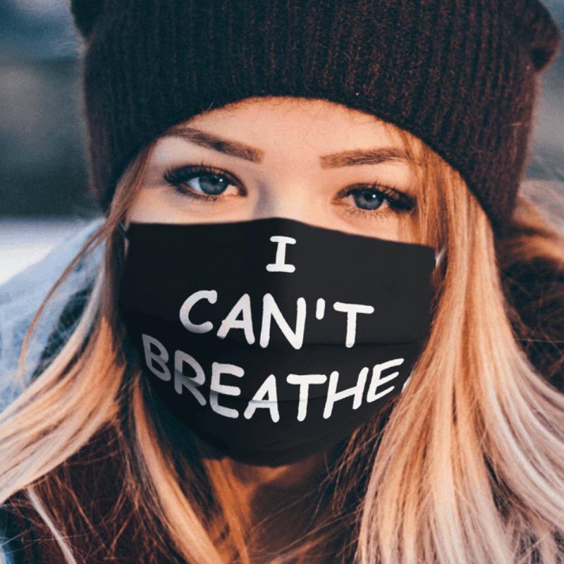 I Cant Breath Mask