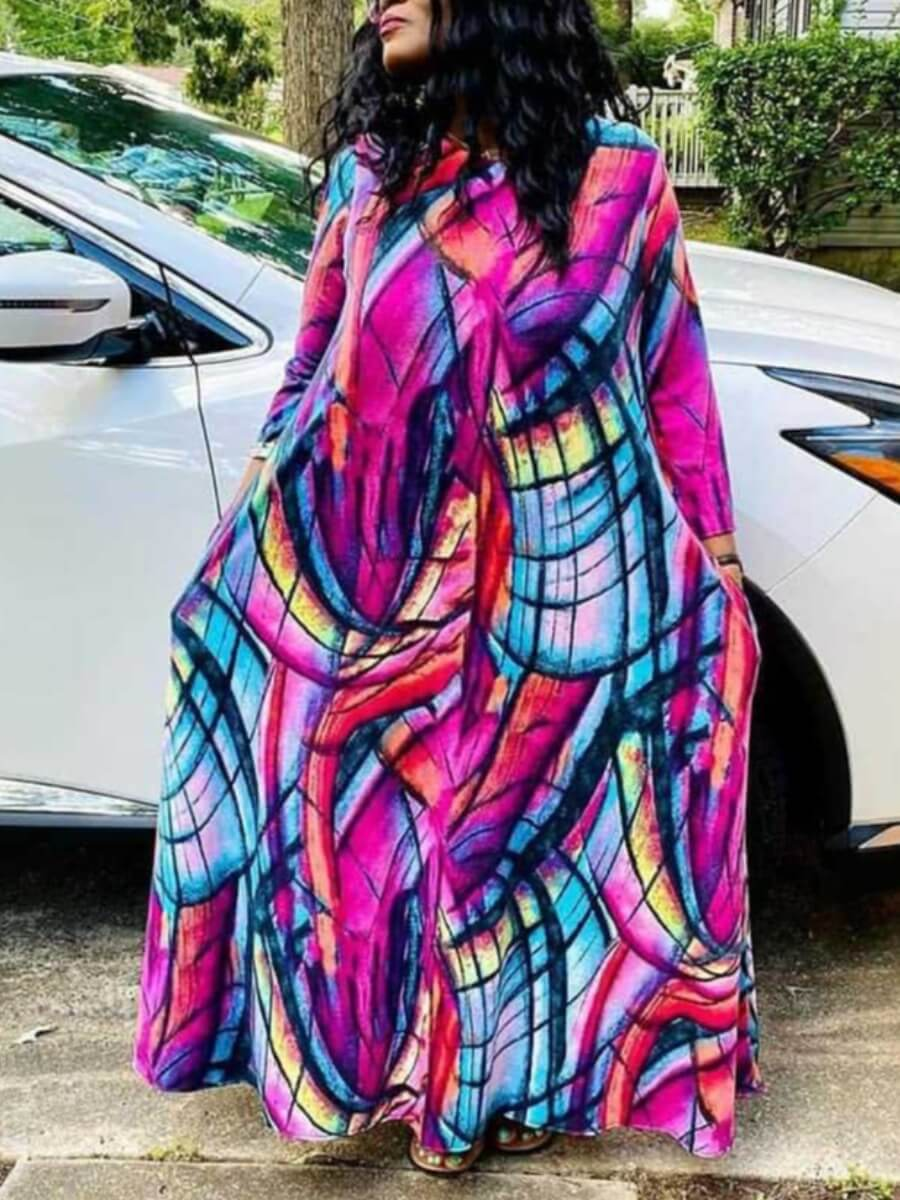 Beautiful flowy maxi summer dress