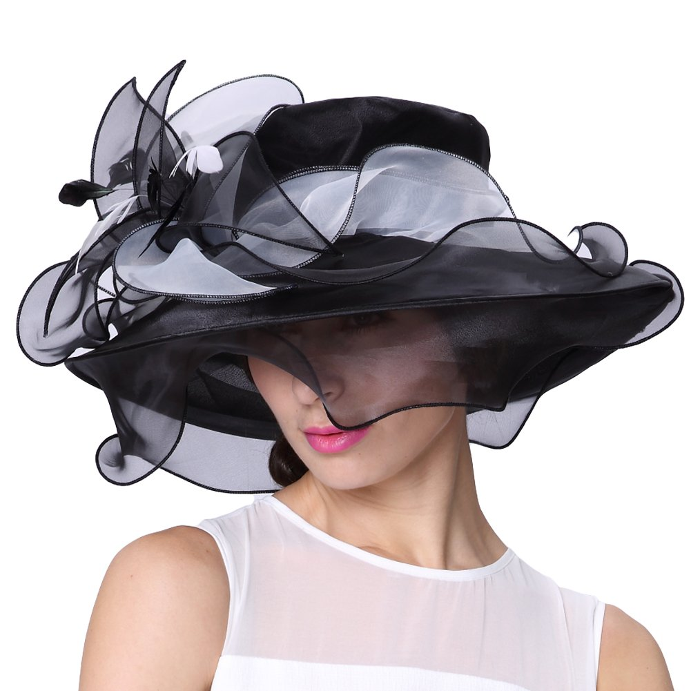Black & White Elegant Hat