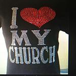 I Love My Church Tee