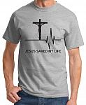 Jesus Saved My Life Tee