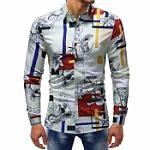 Men multi color shirt