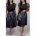 Black Two- Piece Skirt set