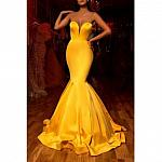 Yellow Evening dress